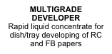MULTIGRADE DEVELOPER